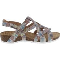 Ganter / Goa / Taupe Mosaik Leder / Weite: G / Art: 5-203543-1900 / Damen Sandalen