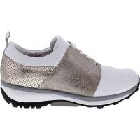 Xsensible Stretchwalker / Modell: Nice / White-Gold / Leder / Art: 300313-133 / Damen Sneakers