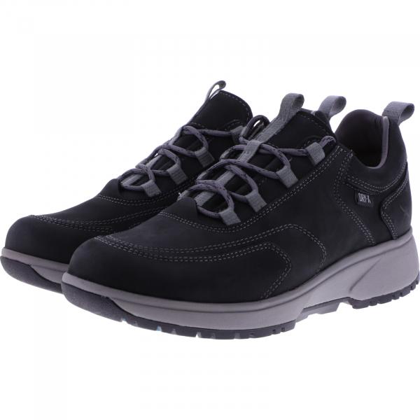 Xsensible Stretchwalker / Modell: Uppsala / Schwarz Dry-X / Art: 402031-002 / Hiking Schuhe