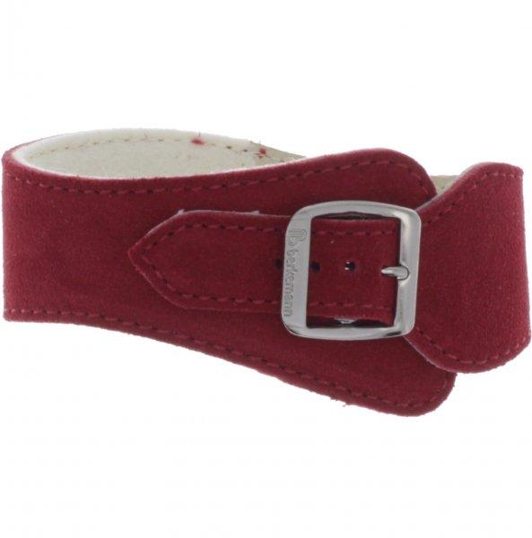 Berkemann / Ersatzriemen für Original-Sandale / B100 / B102 / Rot Veloursleder / Art: 00140-250