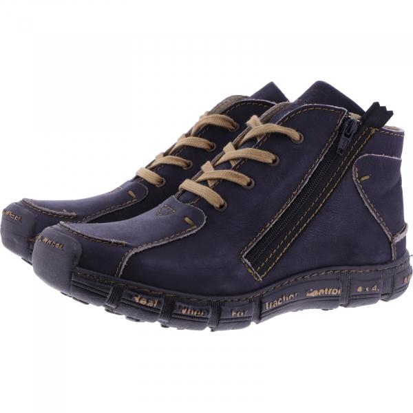Rovers / Modell: Traction / London Jeans-Blau Leder / Wechselfußbett / Art.: 401 / Herren