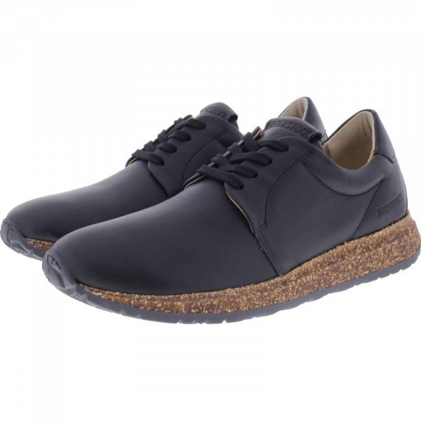 Birkenstock Shoes Modell: Wrigley Schwarz Leder Weite: Schmal Art: 1010973