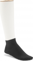 Birkenstock Damen Sneaker Socken - Cotton Sole Sneaker 2-Pack - Schwarz 39-41 EU