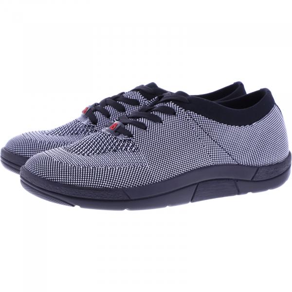 Berkemann Comfort Knit / Modell: Allegra / Schwarz-Weiß / Form: Antibes / Art: 05450-997 / Damen