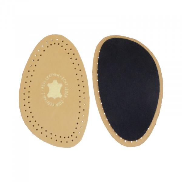 Débé - Pure Leather Plus 1/2 - Luxuriöse Leder Halbsohle mit Polsterung aus Belgien