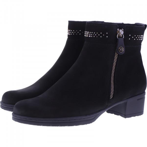 Hartjes / Modell: XS Hip Boot / Schwarz Leder / Weite: H / 23672-0101 / Damen Stiefeletten