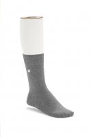 Birkenstock Damen Socken - Cotton Sole - Gray Melange 36-38 EU