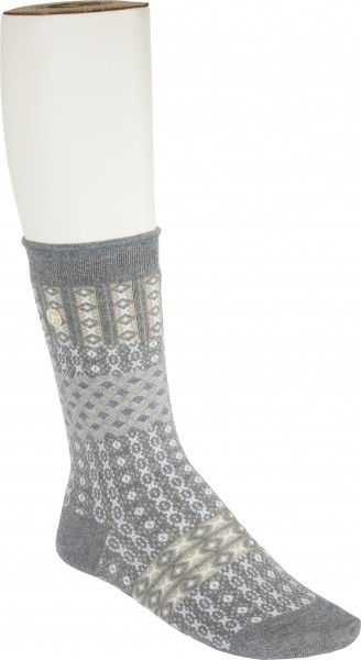 Birkenstock Damen Socken - Cotton Ethno Summer - Gray Melange
