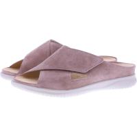 Hartjes / Modell: Breeze / Altrosa Velours / Weite: G / 111622-4600 / Damen Pantoletten