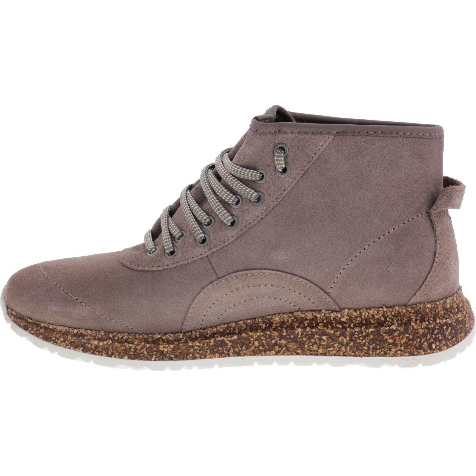 7194a0916b93ca ... Vorschau  Birkenstock Shoes   Modell  Atlin   Taupe Velours   Leder    Weite  ...