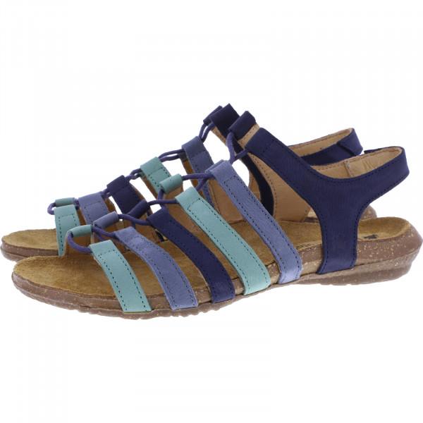El Naturalista / Modell: N5069 Wakataua / Farbe: Pleasent Mixed Ocean Leder / Damen Sandalen