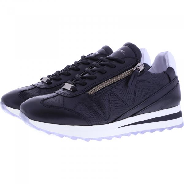 Piedi Nudi / Modell: H-Fit Sneaker / Farbe: Schwarz Leder / Art.: 2487-0506 / Damen