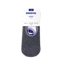 Birkenstock Damen Socken - Cotton Sole Invisible - Grau Melange