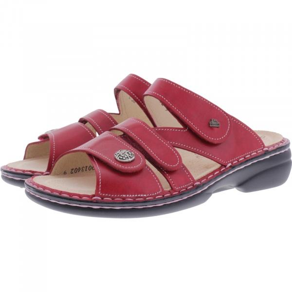 Finn Comfort / Ventura-Soft / Pomedore Rot / Wechselfußbett / Art: 82568-604420 / Damen Pantoletten