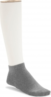 Birkenstock Damen Sneaker Socken - Cotton Sole Sneaker 2-Pack - Grau Melange 36-38 EU