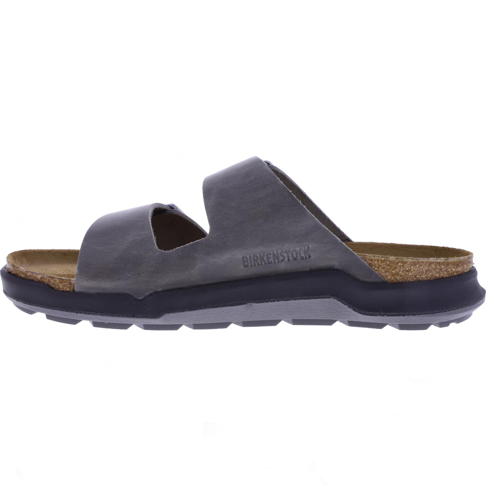 Birkenstock Crosstown Modell: Arizona CT Iron Grau Leder Weite: Normal Art: 1014950 Herren