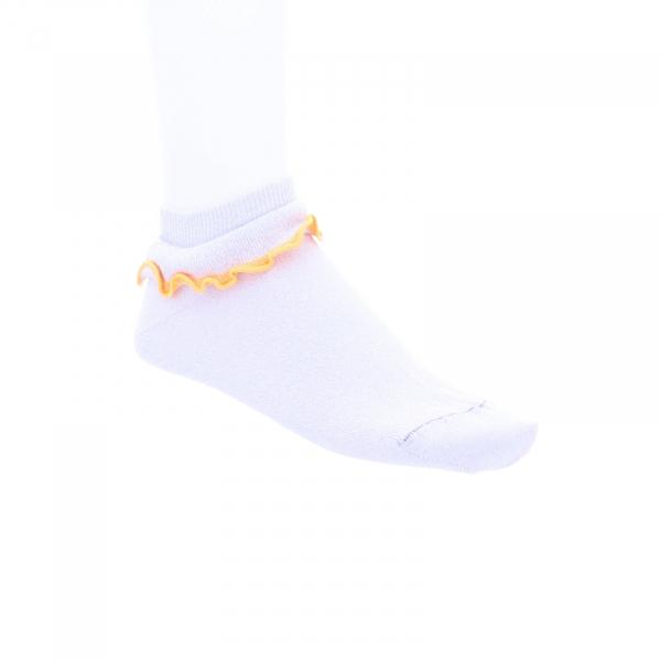 Birkenstock Damen Socken - Cotton Bling Lace Sneaker - White