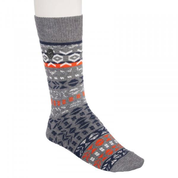 Birkenstock Herren Socken - Cotton Jacquard - Gray Melange