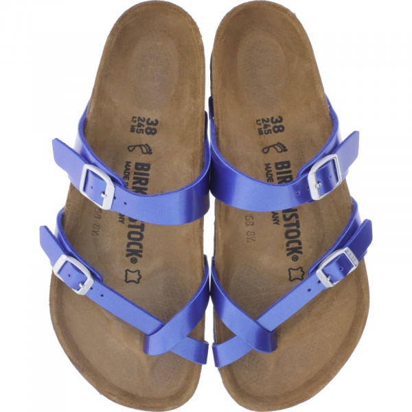 Birkenstock / Modell: Mayari / Electric Metallic Ocean / Weite: Normal / Art: 1012975 / Damen