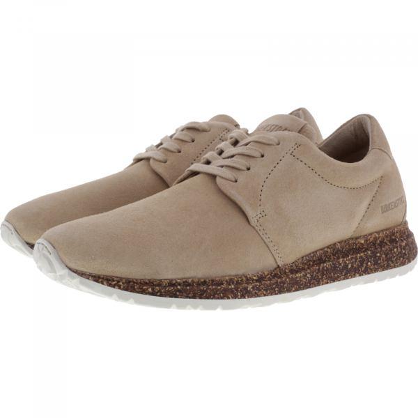 Birkenstock Shoes  / Modell: Wrigley / Sand / Leder / Weite: Schmal / Art: 1013395