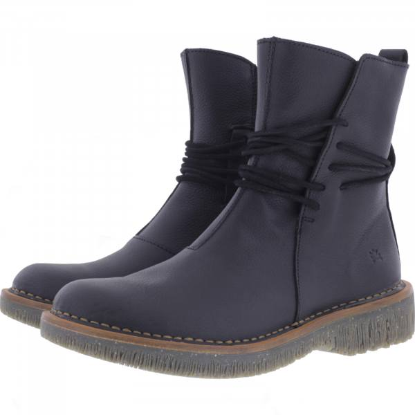 El Naturalista / Modell: N5571 Volcano / Farbe: Soft Grain Black Leder / Damen Stiefelette