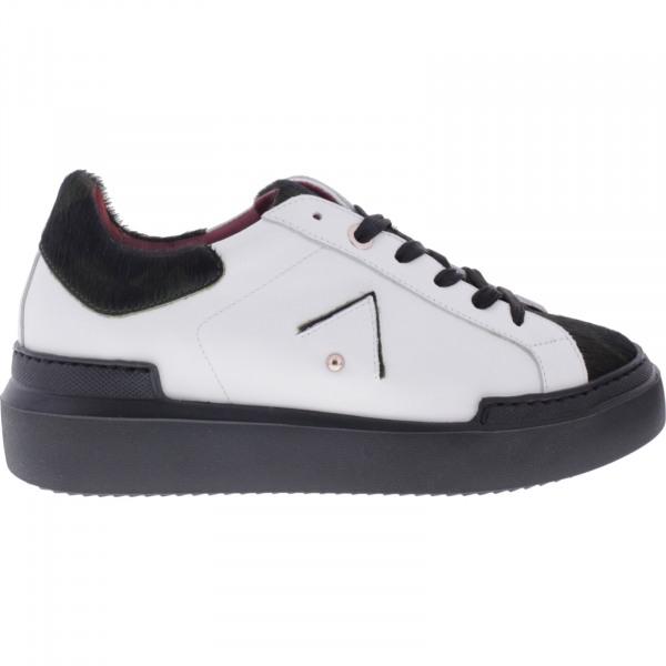 Ed Parrish Sneakers / Modell: Sarah / Militare-Bianco / Wechselfußbett / Damen Sneakers