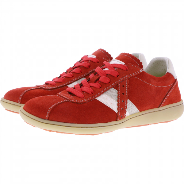 OnFoot / Modell: Citrus / Farbe: Teja/Rojo Rot Leder / Art.: 14003 / Damen Sneakers