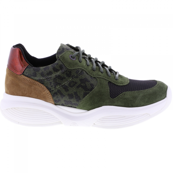 Xsensible Stretchwalker / Modell: SWX17 / Pine-Oliv Leder / Art: 320022-468 / Damen Sneakers