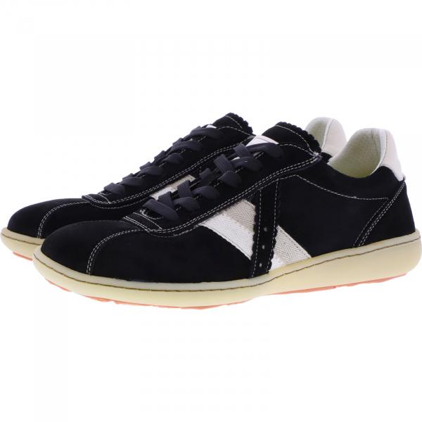 OnFoot / Modell: Citrus / Farbe: Negro Schwarz Leder / Art.: 14003 / Damen Sneakers