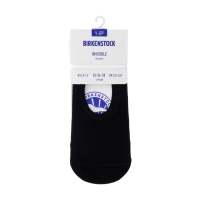 Birkenstock Damen Socken - Cotton Sole Invisible - Schwarz