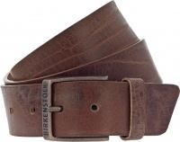 Birkenstock Gürtel / Modell: Ohio / Breite: 40mm / Cognac Leder / Unisex Gürtel One-Size