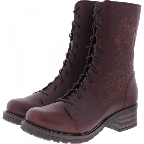 Brako / Modell: Military Pull / Cuero Braun Leder / Stiefel / Art: 8468 / Damen Stiefel