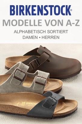 Birkenstock Modelle