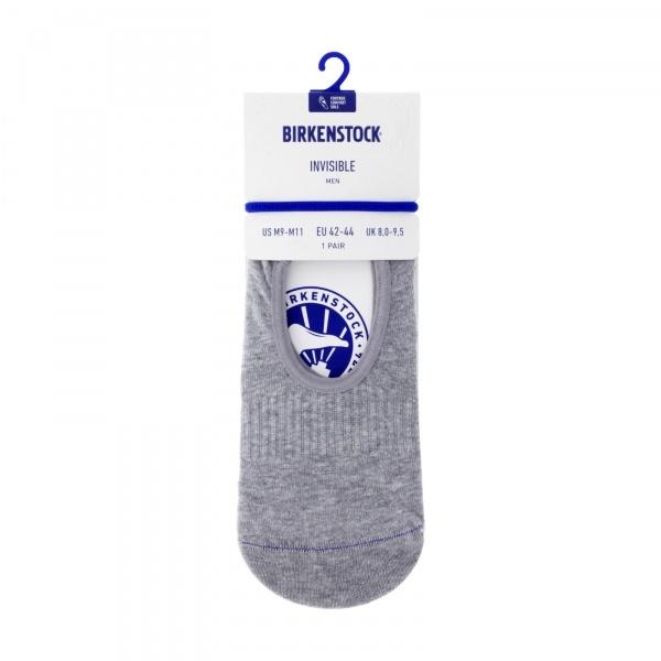 Birkenstock Herren Socken - Cotton Sole Invisible - Hellgrau