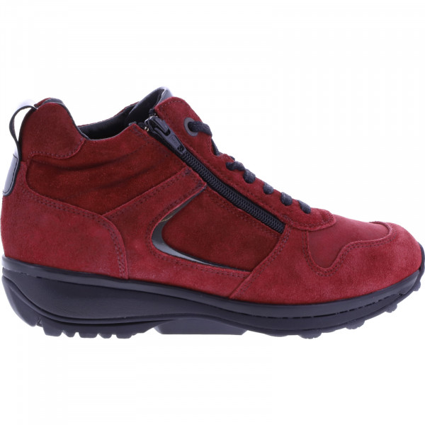 Xsensible / Modell: Filly / Red Birma Velours / Leder / Art: 300262-771 / Damen Stiefelette