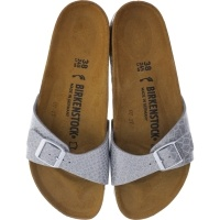 Birkenstock / Modell: Madrid / Magic Snake Silver / Weite: Schmal / Art: 1009100