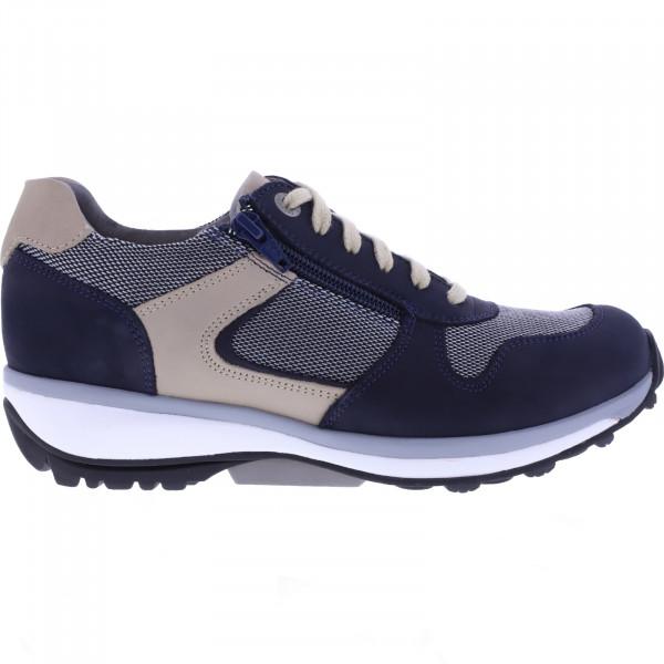 Xsensible Stretchwalker / Modell: Jersey / Navy/Sand / Art: 300421-289 / Damen Sneakers