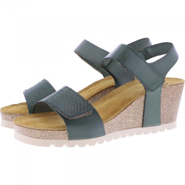 Brako / Modell: Tokio / Verde-Khaki Leder / Art: 300 / Damen Sandalen
