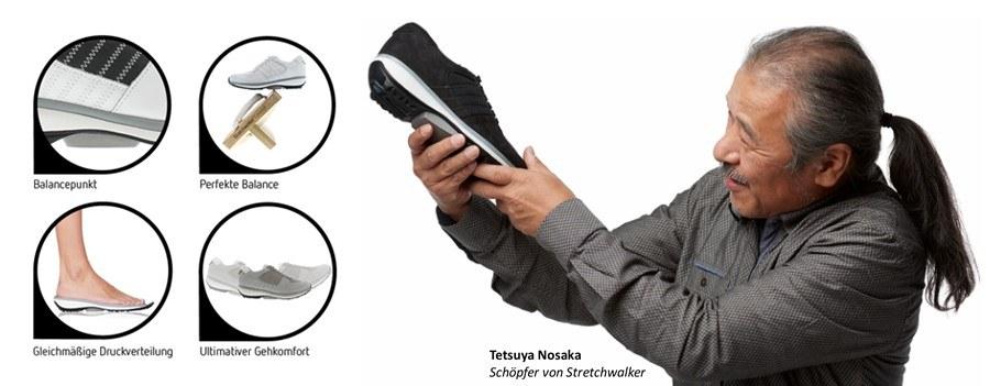 Xsensible Stretchwalker Tetsuya Nosaka