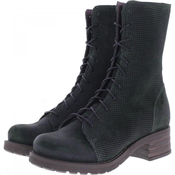 Brako / Modell: Military Tina / Pino Waldgrün Leder / Stiefel / Art: 8470 / Damen Stiefel