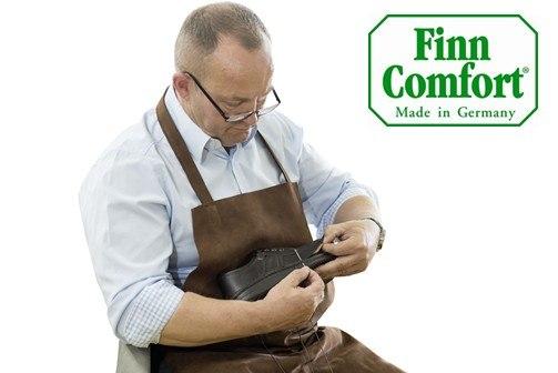Finn Comfort Banner Fertigung