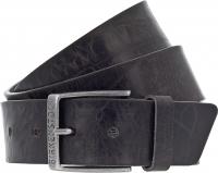 Birkenstock Gürtel / Modell: Ohio / Breite: 40mm / Grau Leder / Unisex Gürtel One-Size