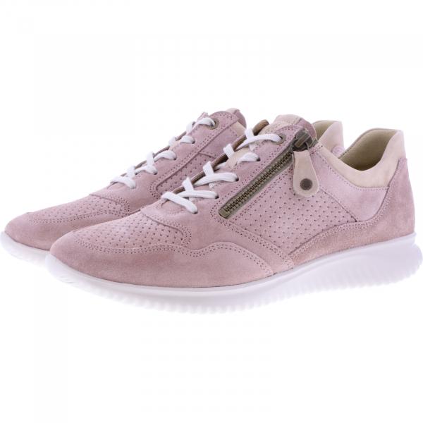 Hartjes / Modell: Breeze I / Altrosa/Schlamm Leder / Weite: G / 113362-4635 / Damen Sneakers