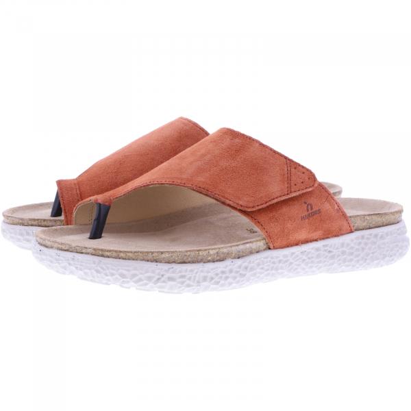 Hartjes Natural / Modell: Move / Rost Leder / Weite: G / 120522-8000 / Damen Zehensteg Sandalen