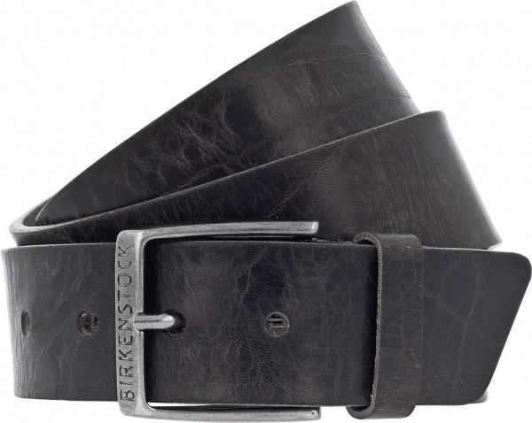 e2dc083730f44d Birkenstock Gürtel   Modell  Ohio   Breite  40mm   Grau Leder   Unisex  Gürtel