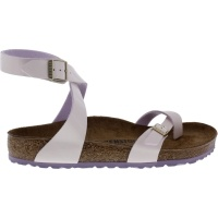 Birkenstock / Modell: Yara / Two Tone Cream-Pink  / Weite: Normal / Art: 1008111 / Damen