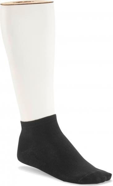 Birkenstock Herren Sneaker Socken - Cotton Sole Sneaker 2-Pack - Schwarz