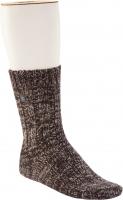Birkenstock Herren Socken - Cotton Twist - Dunkelbraun Meliert 39-41 EU