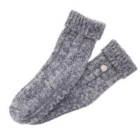 Birkenstock Damen Stopper-Socken - Twist HSH - Hellgrau meliert