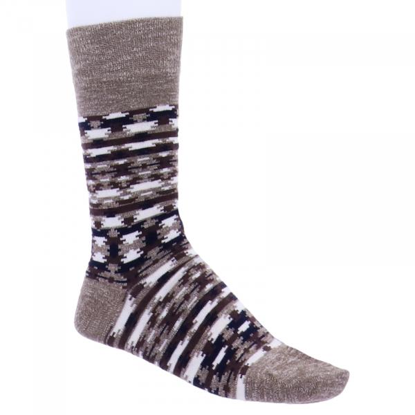 Birkenstock Herren Socken - Ethno Linen - Faded Khaki/Braun